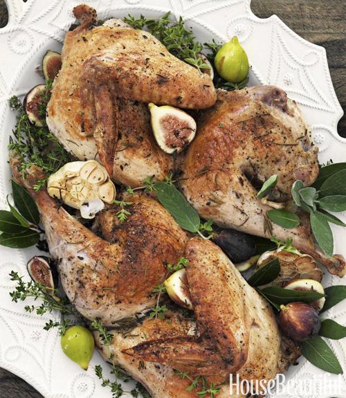 Tyler Florence Turkey tyler florence turkey recipe - split roasted turkey