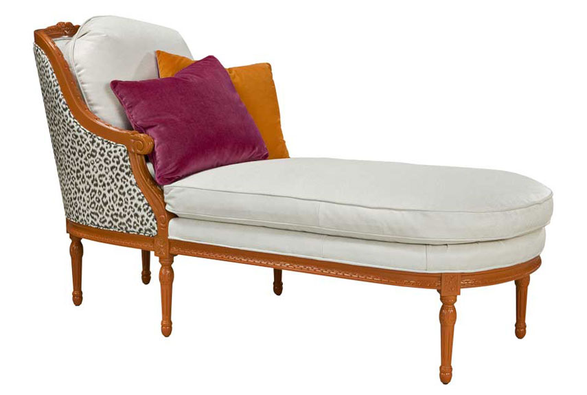 vanessa chaise - Indoor Chaise Lounge Chairs