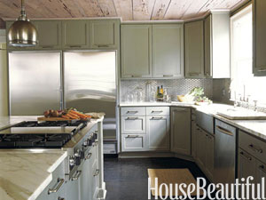 Green Kitchen Cabinets green kitchens - ideas for green kitchen design