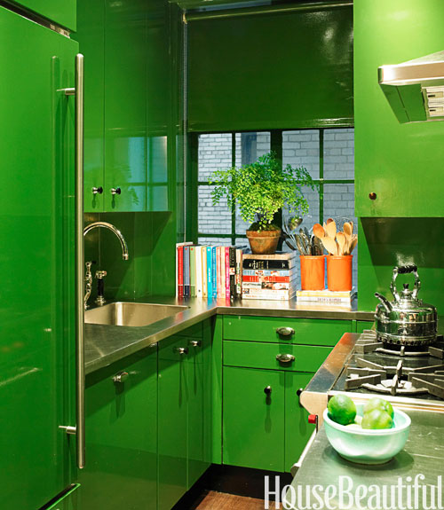 Kitchen Colour Green: Decorating With Green
