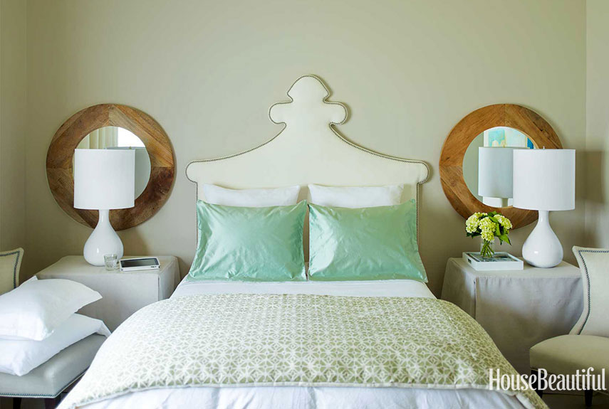 Guest Bedroom. Seafoam Green ...