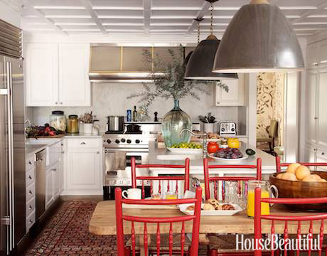 red kitchens - ideas for red kitchen decor