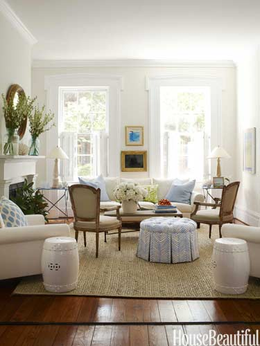white living room ideas - white living rooms decor