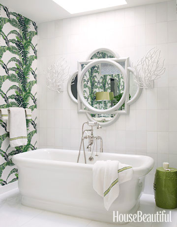 A Tropical Bathroom