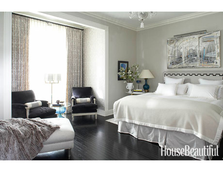 gray bedroom ideas - gray bedrooms