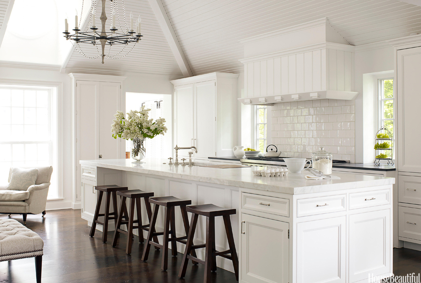Classic White Kitchen white kitchen decorating ideas - mick de giulio kitchen design