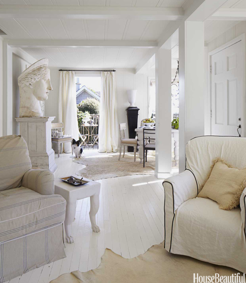 white living room - Interior Design Ideas For Small Spaces