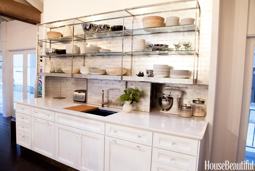 open shelving - Delaware Kitchen Cabinets