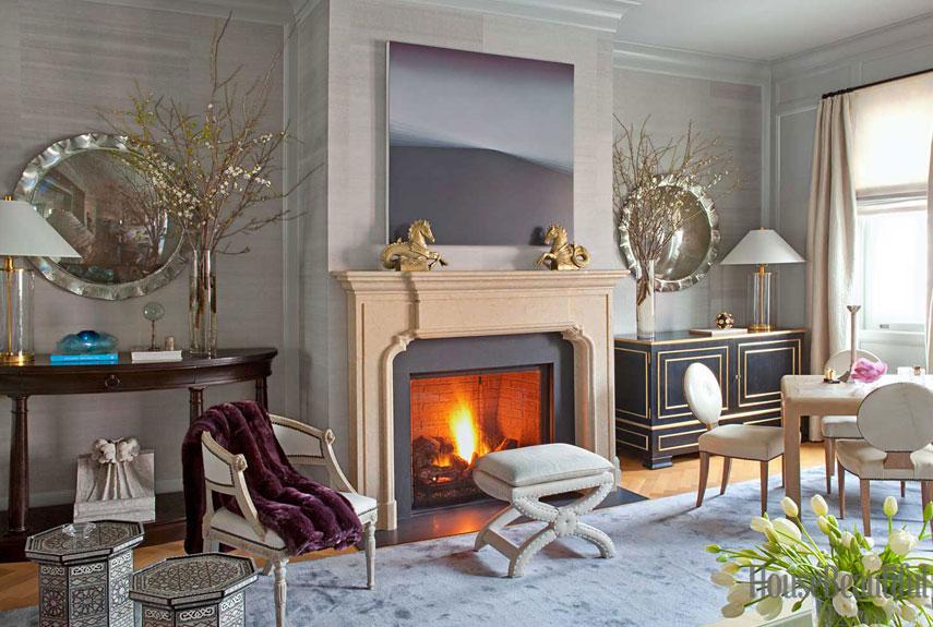 Modern Decorating Ideas Benjamin Dhong Modern San Francisco Row - Row house living room design