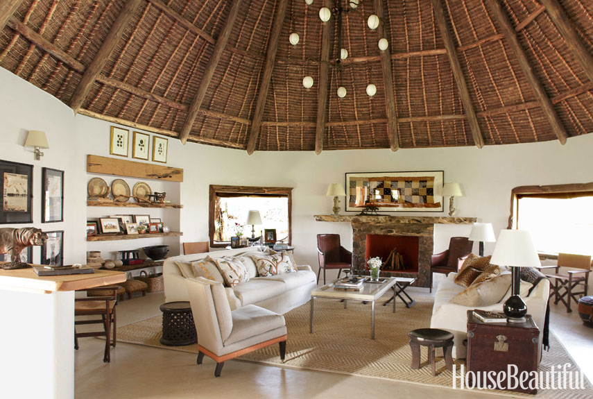 Living Room Designs Kenya suzanne kasler interiors kenya house - open air house in kenya