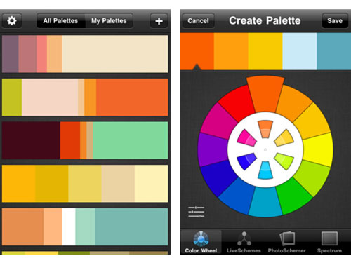 colorschemer app colorschemer palette