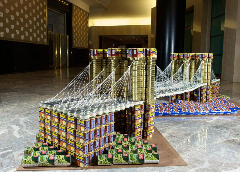 Nyc Canstruction 2012 Canstruction Photos