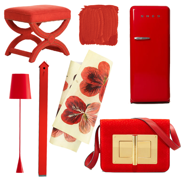 Best Color For Dining Room Feng Shui: Coral Red Home Accessories