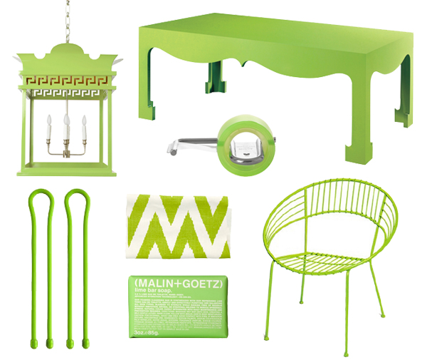 Lime green home accessories lime green decor for Lime green home decorations