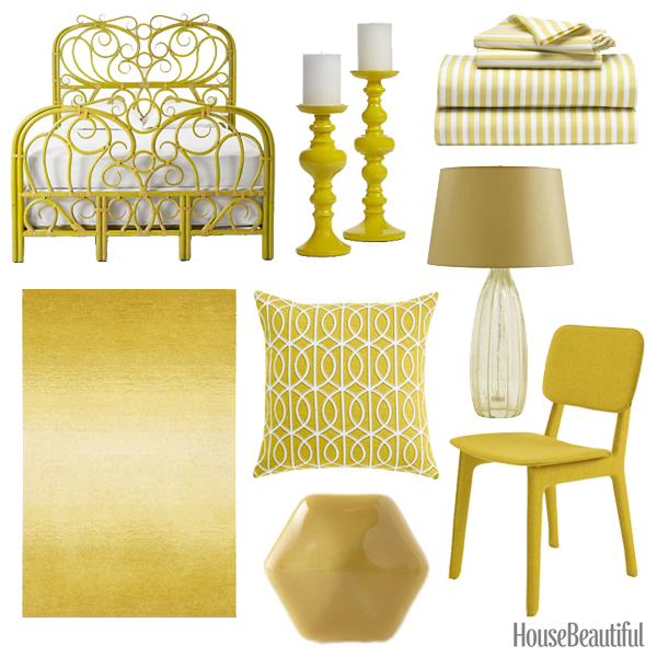 citrine yellow home accessories - citrine yellow decor