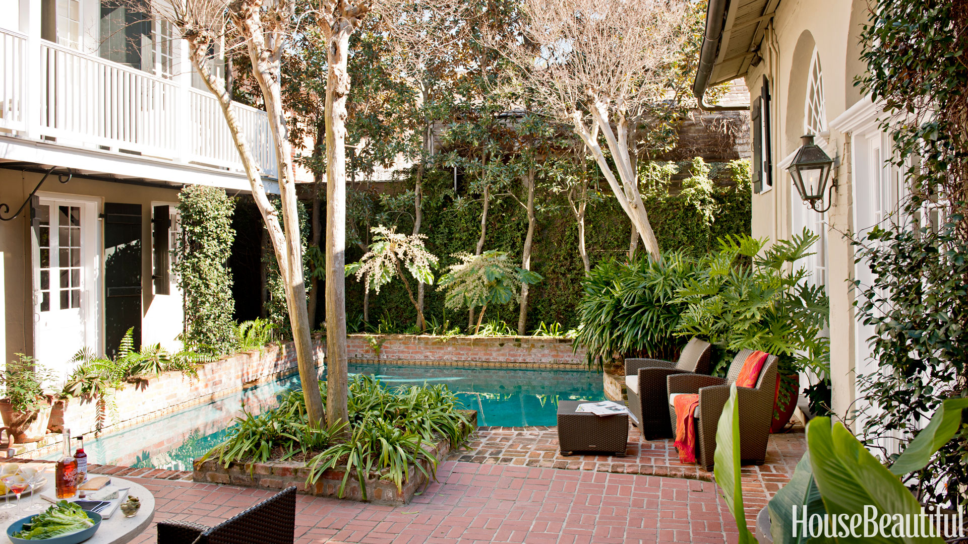 Pool designs ideas for designer swimming pools for Pool design new orleans
