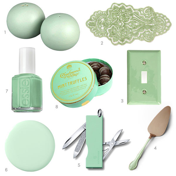 Mint Green Home Decor