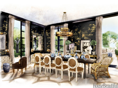 Room design sketch interior designer sketches Room sketches interior design