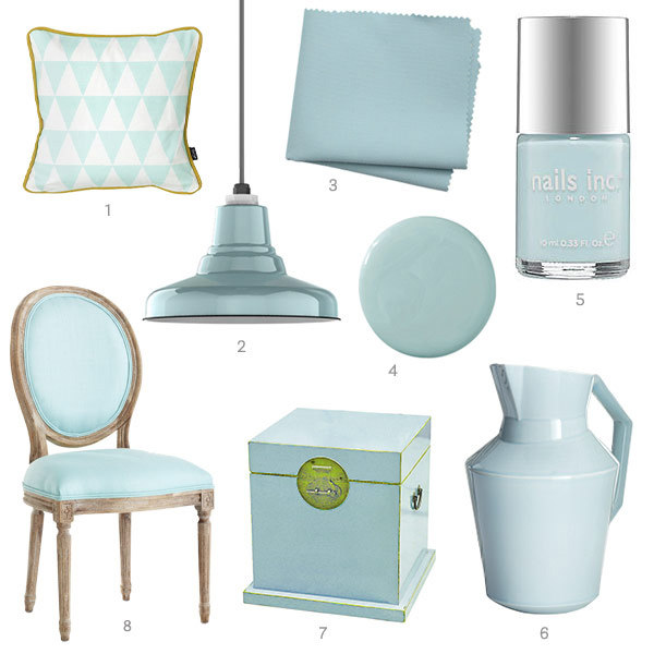 Light Aqua Home Accessories