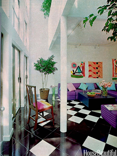 Living Room 1980 1980s interior design trends - 1980s decor