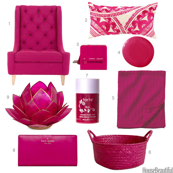 Fuchsia Home Accessories