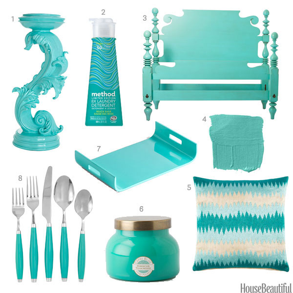 Turquoise home accessories turquoise home decor for Home decor and accessories