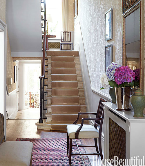 Foyer Ideas For Townhouse : Entry in london townhouse house beautiful pinterest
