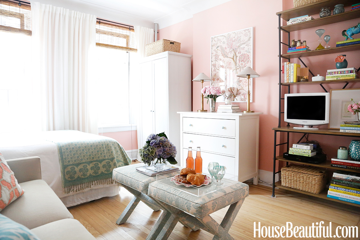 Studio Apartment Design Tips - Small Space Decorating