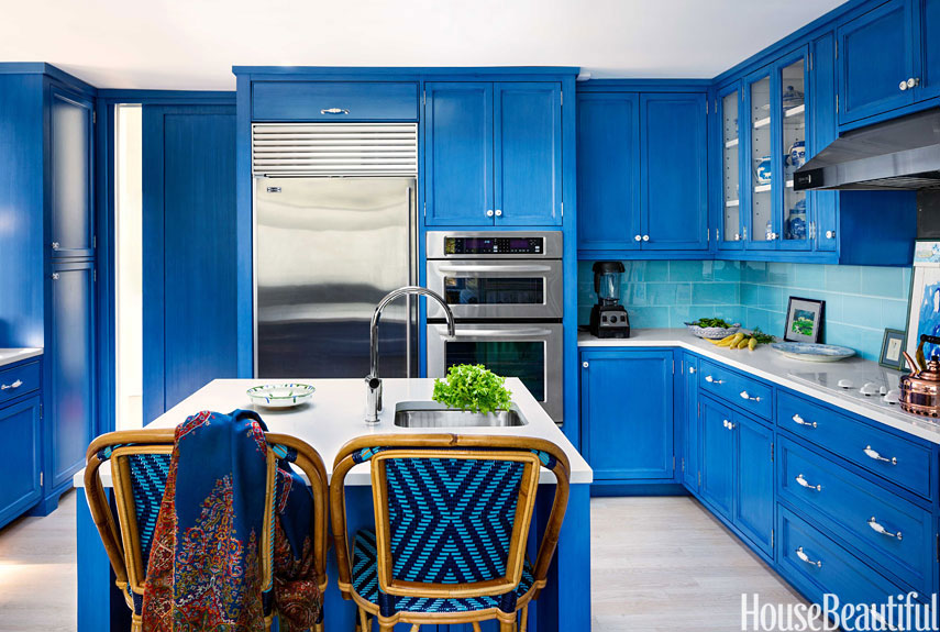 Blue Kitchens blue kitchen design - blue kitchen ideas