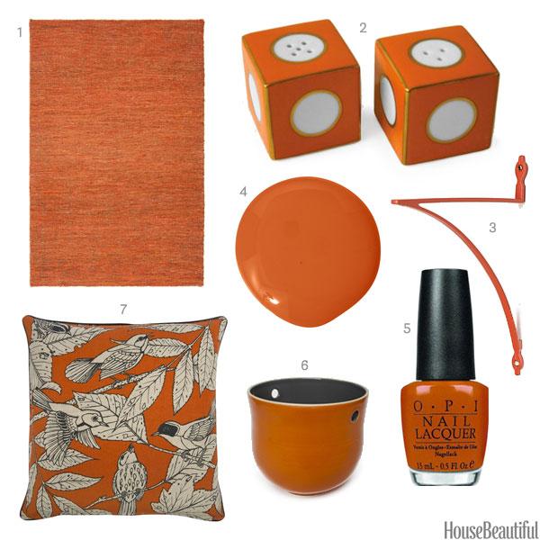 Best Of The Week 9 Instagrammable Living Rooms: Dark Orange Accessories
