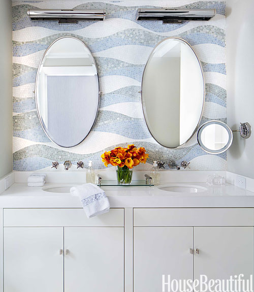 45 bathroom tile design ideas - tile backsplash and floor designs