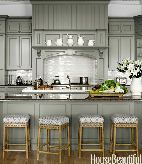 15 Stunning Gray Kitchens With Images: House Beautiful Pinterest Favorite Pins