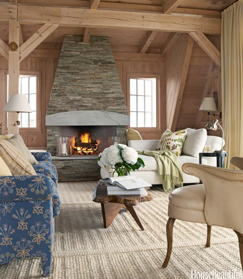 Rustic Cottage Living Room rustic room decorating ideas - cozy rooms