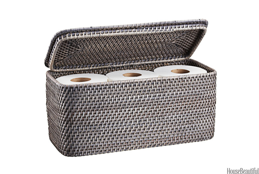 Bathroom storage basket house beautiful favorite for Loo roll storage