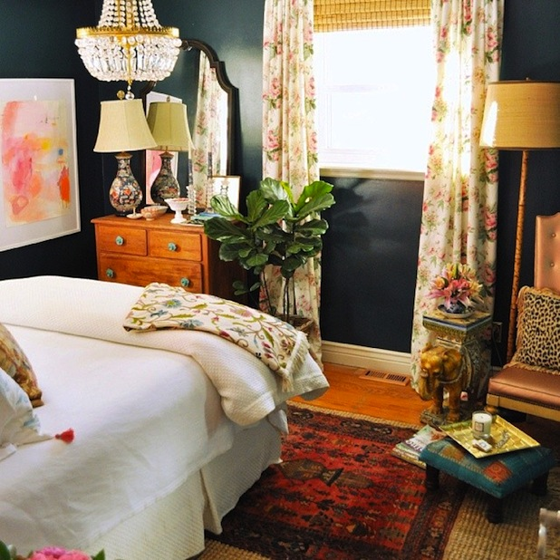 Colorful Bedroom: Interior Design On Instagram