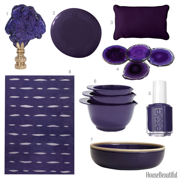 Exceptionnel Purple Home Decor Accessories