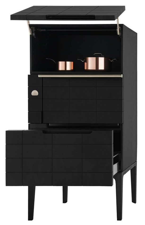 la cornue w collection black appliance trend. Black Bedroom Furniture Sets. Home Design Ideas