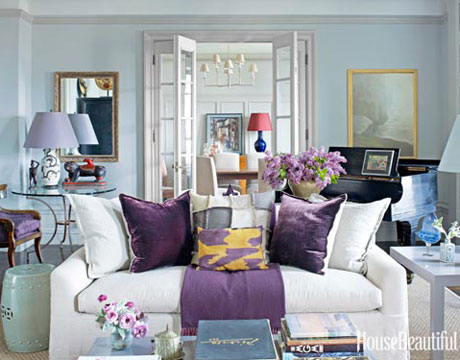Perfect Purple Design Accents Month Of Living Rooms Part 10