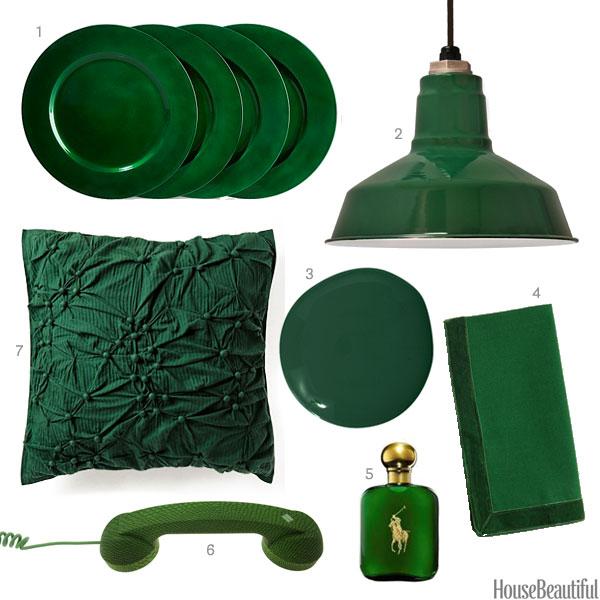 Dark Green Accessories