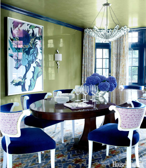 Beautiful Dining: House Beautiful Pinterest Favorite