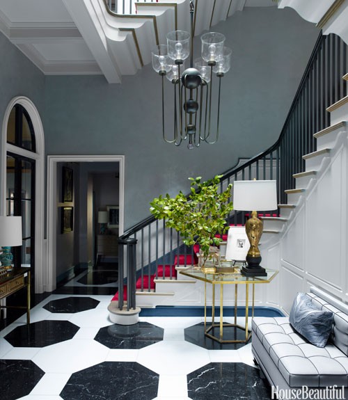 Townhouse Foyer Interior Design : Steven gambrel interview interior design