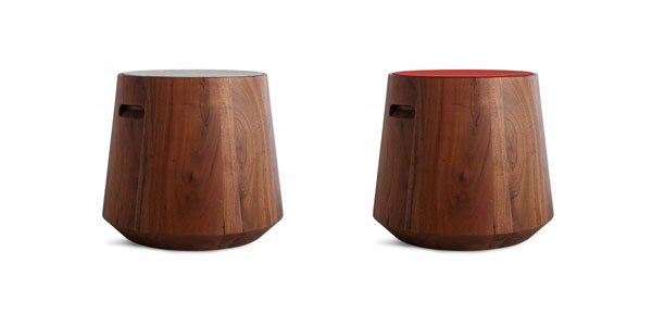 Wood Stool Changes Color On A Whim Furniture From Blu Dot