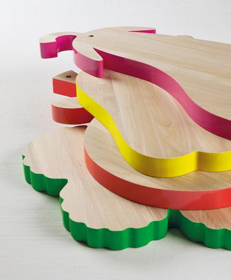 Vegetable Shape Cutting Board Veggie Chopping Boards
