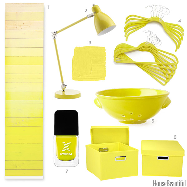 yellow home accessories – home design inspiration