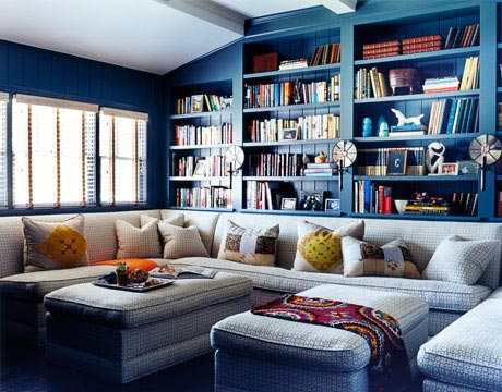denim blue decorating