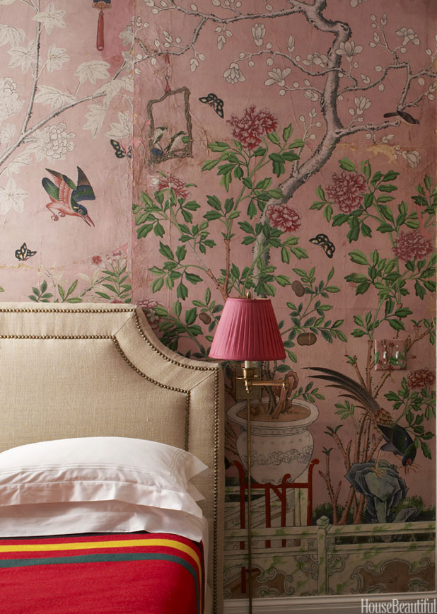 Chinoiserie Wallpaper Handpainted