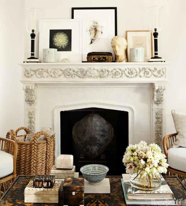 Mantel Decor Ideas Chic Mantel Style