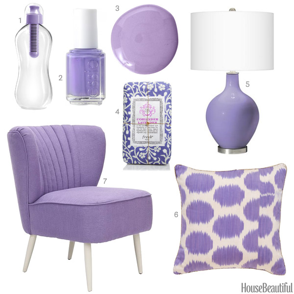 Lavender Home Accessories