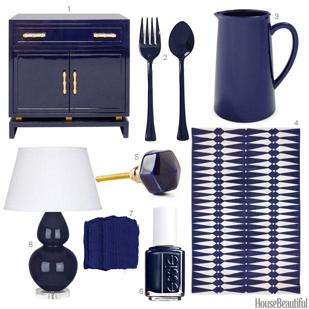Navy Home Accessories