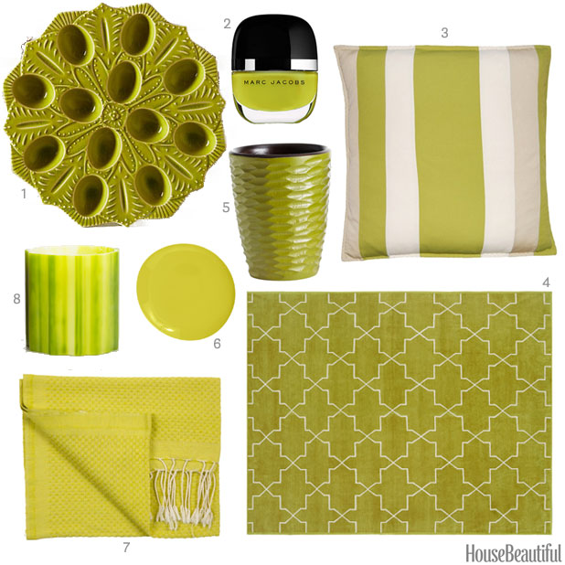Chartreuse Home Accessories